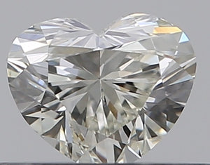 .30ct Heart GIA Certified Diamond