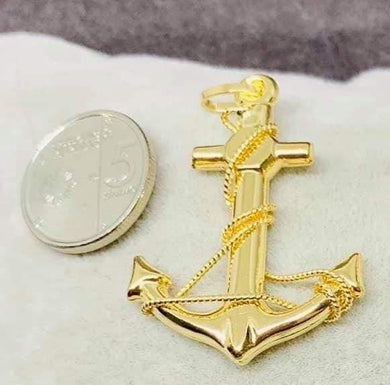 Anchor Pendant 18K Gold
