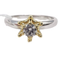Diamond Engagement Ring, Ladies' Ring, Anniversary Gift, Birthday Gift, 18K Gold, .28ct Diamond, STAR
