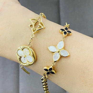 Inspired Charm Gold Bracelet for Women 18K