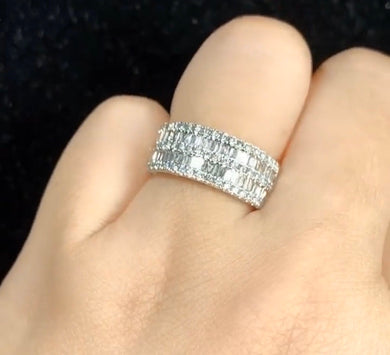 .90ct Power Diamond Ring in 18K White Gold - ZNZ Jewelry Philippines