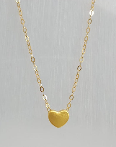 DAINTY Heart Necklace - ZNZ Jewelry Philippines