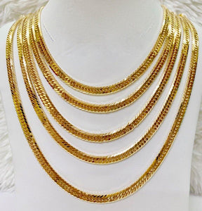18K Gold Japan Necklace 1jl11 - ZNZ Jewelry Philippines
