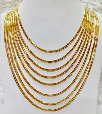 18K Gold Japan Necklace 1jl1 - ZNZ Jewelry Philippines