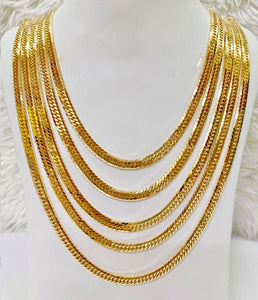 18K Gold Japan Necklace 1jl2 - ZNZ Jewelry Philippines