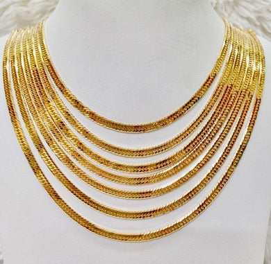 18K Gold Japan Necklace 1jl3 - ZNZ Jewelry Philippines