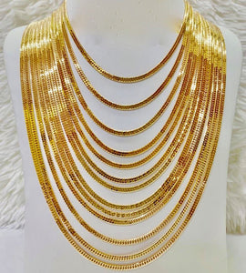 18K Gold Japan Necklace 1jl4 - ZNZ Jewelry Philippines