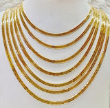 18K Gold Japan Necklace 1jl5 - ZNZ Jewelry Philippines