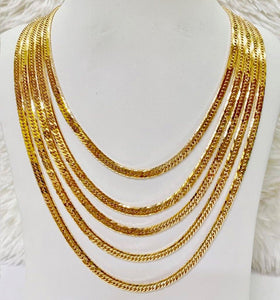 18K Gold Japan Necklace 1jl6 - ZNZ Jewelry Philippines