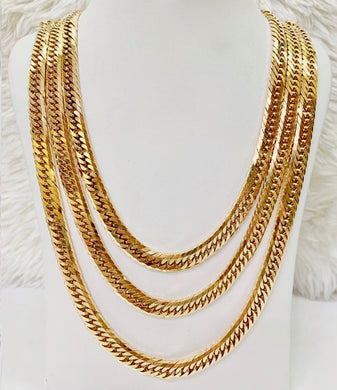 18K Gold Japan Necklace 1jl7 - ZNZ Jewelry Philippines