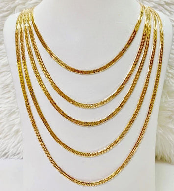 18K Gold Japan Necklace 1jl8 - ZNZ Jewelry Philippines