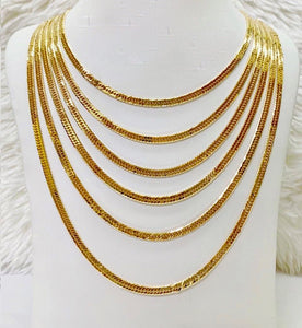 18K Gold Japan Necklace 1jl9 - ZNZ Jewelry Philippines