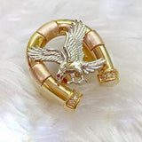 Men's Ring Eagle 18K Gold jn4tt33 - ZNZ Jewelry Philippines