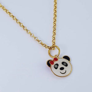Koala Necklace 18K Gold
