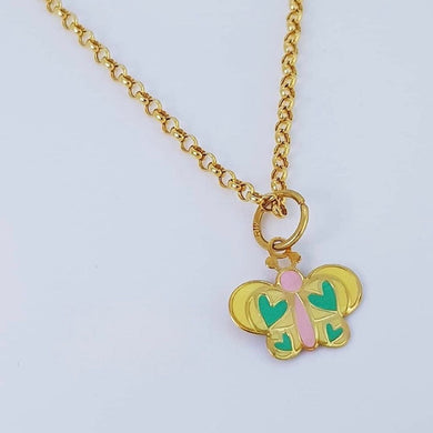 Butterfly Necklace 18K Gold