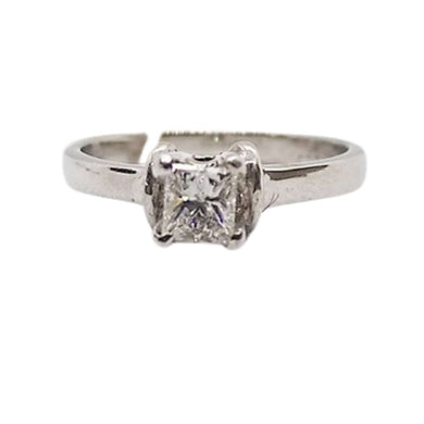 .40ct Princess Cut Diamond Engagement Ring 14K White Gold, Ladies' Ring, Anniversary or Birthday Gift