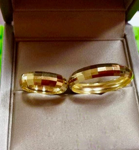 CALI 18K Gold Wedding Rings