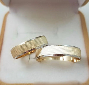 18K Gold Wedding Bands - ZNZ Jewelry Philippines