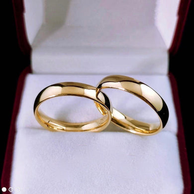 MARION 18K Gold Wedding Rings