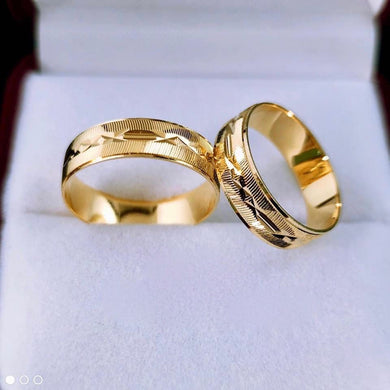 PIERS 18K Gold Wedding Rings