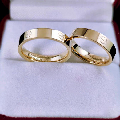 CARTR 18K Gold Wedding Rings