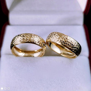 MEREA Wedding Rings in 18K Gold