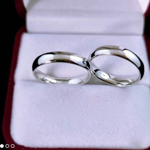 MERIDIAN White Gold Wedding Rings 18K
