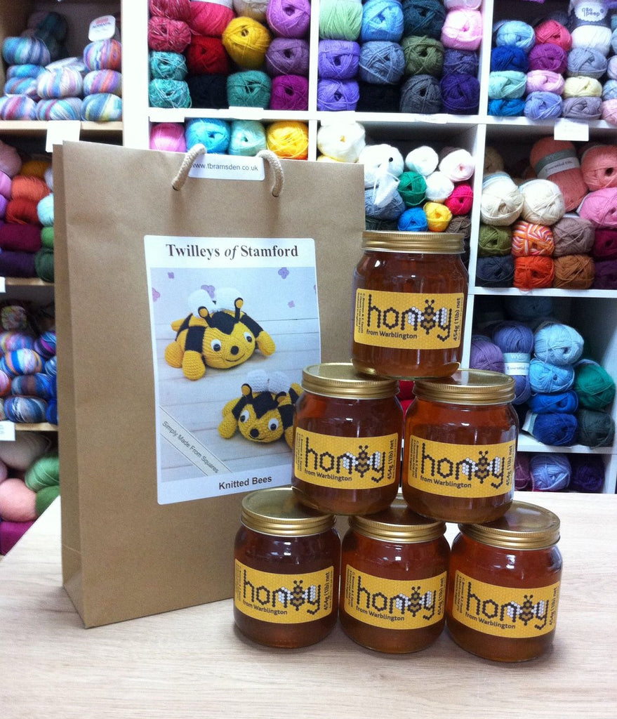 Raw Local Honey at My Yarnery