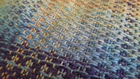 Handwoven Baby Blanket at My Yarnery Havant