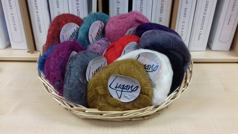 Vintage Mohair Yarns at My Yarnery Havant UK