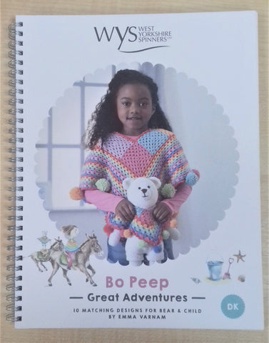 West Yorkshire Spinners Great Adventures Crochet Pattern Book at My Yarnery Havant UK