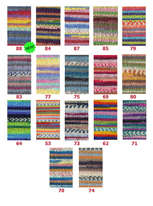 Adriafil Knitcol Shade Card December 2019