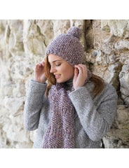 Heather Hat & Scarf