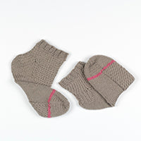 Herringbone Socks K3 Erika Knight by Emma Wright