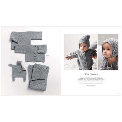 Rico Baby The Little Hand Knitting Booklet for Beginners 031 Baby Classic DK