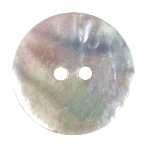 18mm Agoya Shell 2 Hole Button: Mother of Pearl
