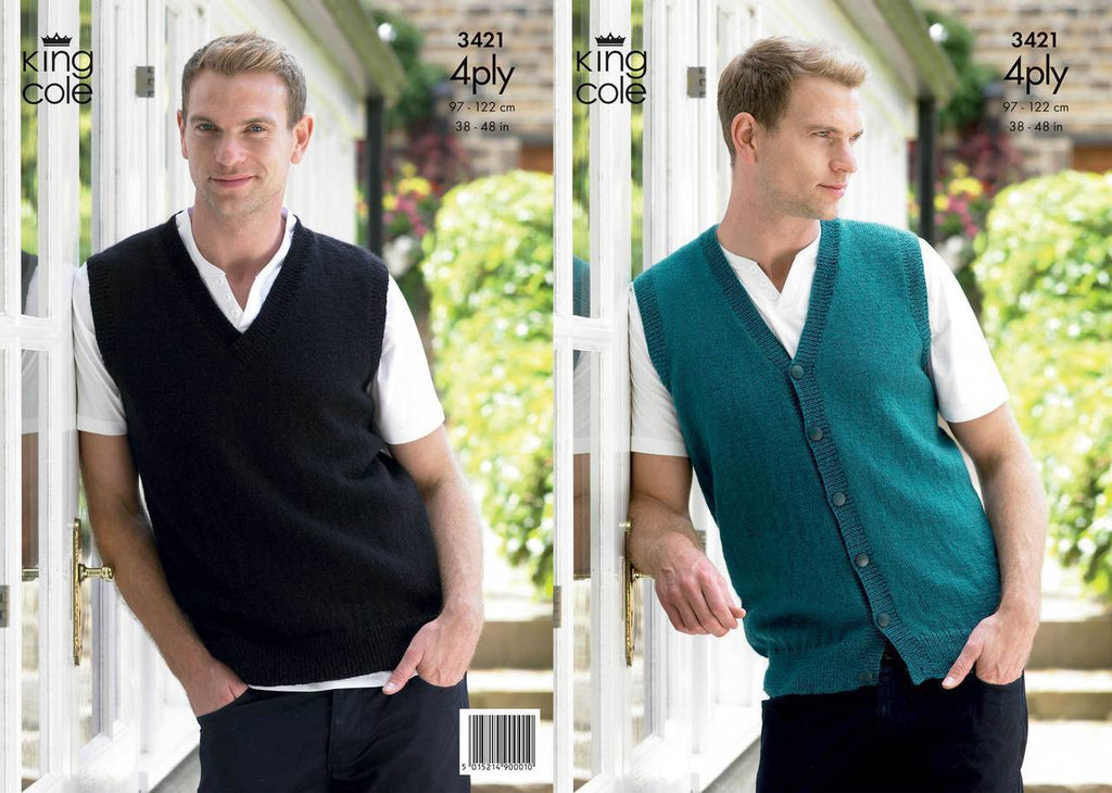 King Cole Pattern 3421