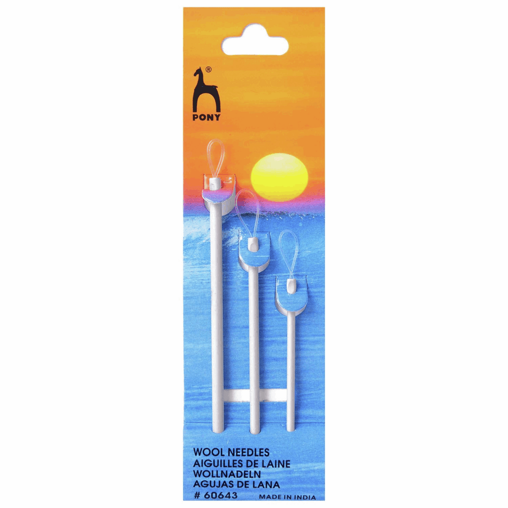 Pony Aluminium Wool Needles