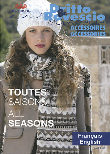 Adriafil Dritto & Rovescio Accessories Pattern Book