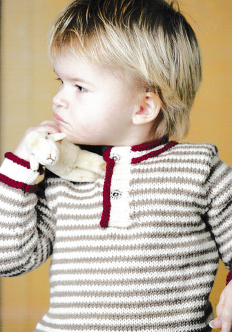 Adriafil Pattern - Boys Sweater - Regina