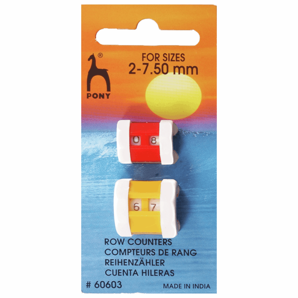 Pony Row Counter: Combi Pack: Sizes 2.00mm - 7.50mm