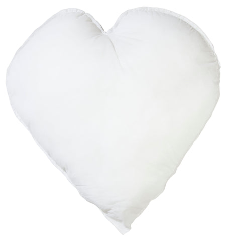 "Cushion Pad: Heart-Shaped: 18"" x 18"""