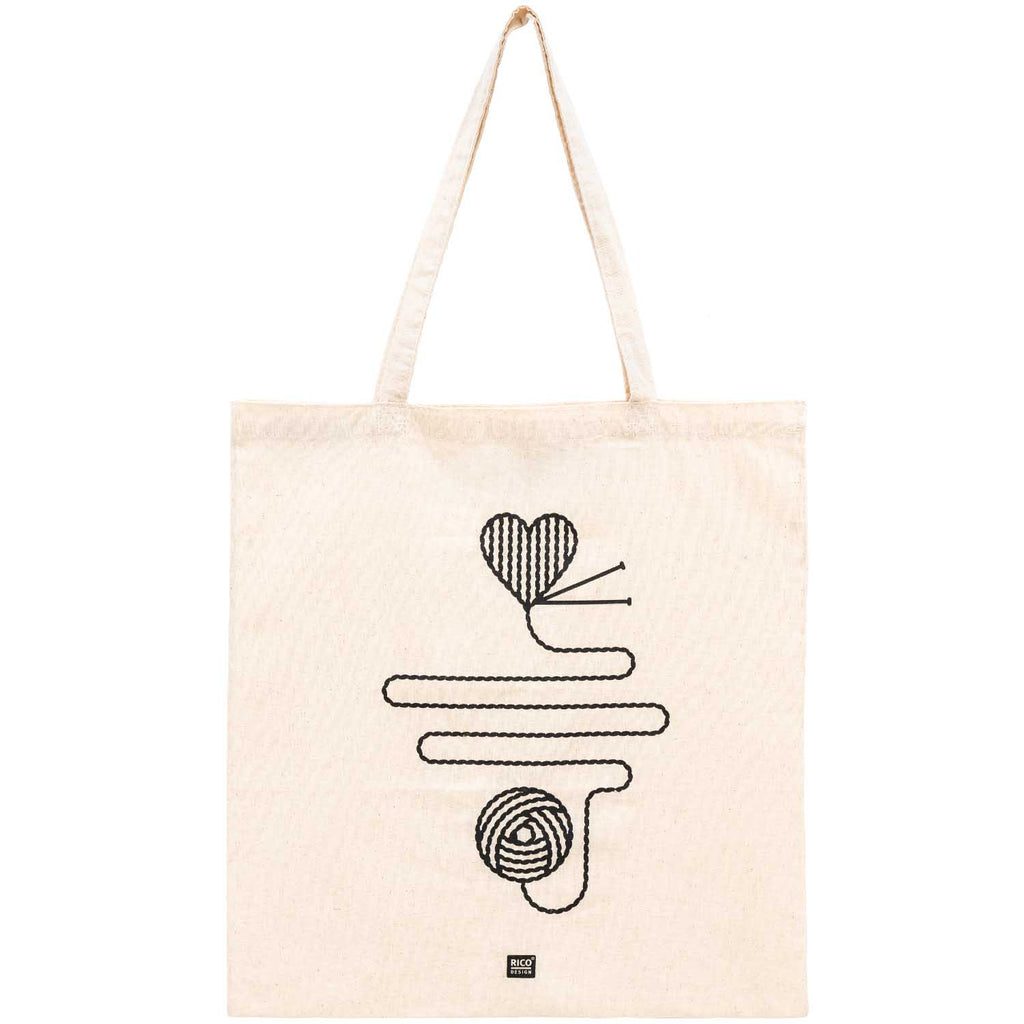 Rico Cotton Tote Bag - Ball of Wool
