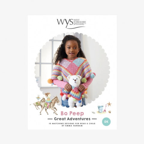 West Yorkshire Spinners Bo Peep Great Adventures - Crochet Pattern Book