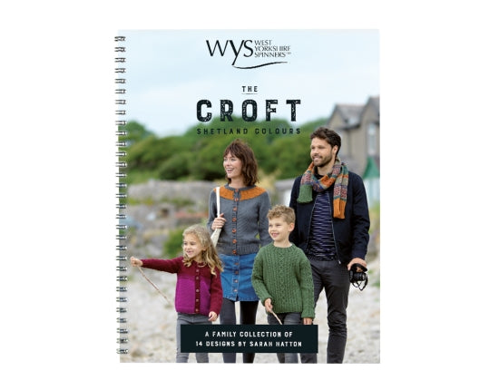 West Yorkshire Spinners The Croft Shetland Colours Aran - Pattern Book