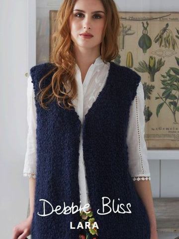 Debbie Bliss Lara Pattern 058 V Neck Gilet