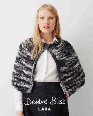 Debbie Bliss Lara Pattern 061 Shoulder Cape