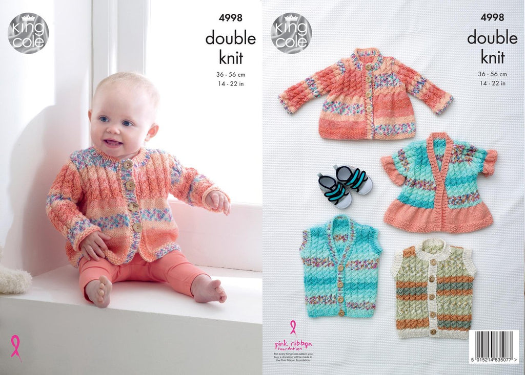 King Cole Pattern 4998