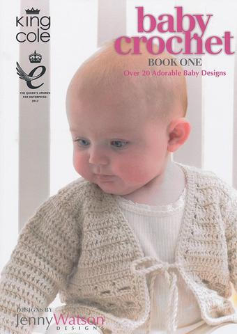 King Cole Baby Crochet Book 1 - Pattern Book