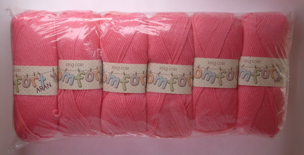 King Cole Comfort Aran pack of 600g